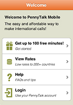 PennyTalk International Calling Service | Products